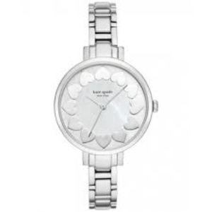 Kate spade silver gramercy heart watch